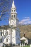 Церковь Новой Англии в New Britain Нью-Йорке Стоковые Изображения