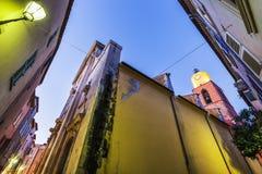 Церковь Нотр-Дам в St Tropez стоковые фотографии rf
