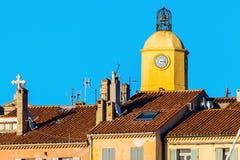 Церковь Нотр-Дам в St Tropez стоковое фото