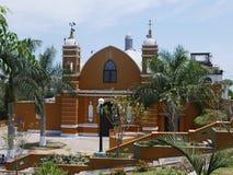 Церковь обители в сути проблемы Barranco, Лимы стоковые изображения rf