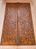 Церковь окна буддийская делает сброс металла Стоковая Фотография RF
