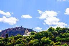 Церковь около Tropea Стоковые Изображения