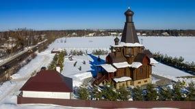 Церковь от имени значка матери бога Стоковая Фотография RF