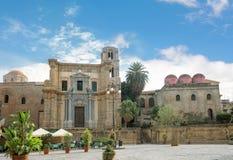 Церковь Палермо Сицилия Сан Cataldo стоковая фотография rf
