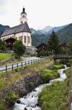 Церковь паломничества Марии Schnee, Virgen, Obermauern Стоковая Фотография