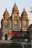 Церковь Пекина, Китай стоковые изображения rf