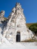 Церковь пещеры сицилийского значка матери бога стоковая фотография
