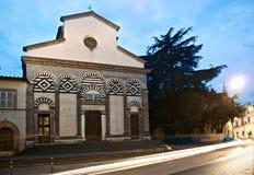 Церковь Пистойя Sant'Andrea Стоковые Фотографии RF
