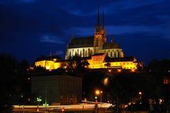 Церковь Питера и Пола, Брна, южной Моравии, чехии Стоковая Фотография RF