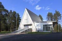 Церковь пограничной полосы Стоковая Фотография