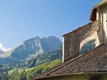 церковь подстенка старая Стоковое Изображение