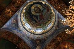 церковь потолка Стоковое фото RF