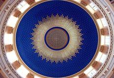 церковь потолка Стоковое Изображение