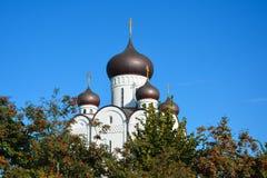 церковь правоверная Висок всех Святых, Uman, область Cherkaska, u Стоковое Изображение RF