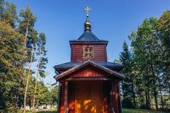 церковь правоверная Польша стоковое изображение rf