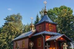 церковь правоверная Польша стоковые фото