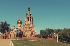 церковь правоверная Россия Стоковое Фото