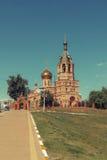 церковь правоверная Россия Стоковая Фотография