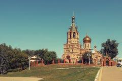 церковь правоверная Россия Стоковые Фотографии RF