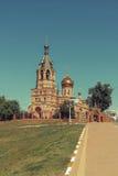 церковь правоверная Россия Стоковые Фото