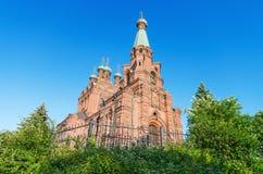 церковь правоверная Финляндия tampere Стоковое Изображение
