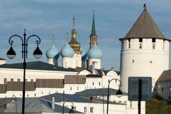 церковь правоверная kazan kazan kremlin Стоковая Фотография