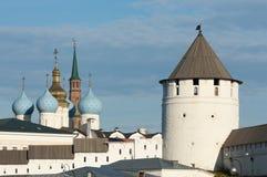 церковь правоверная kazan kazan kremlin Стоковые Фотографии RF