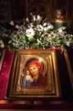 церковь правоверная kazan kazan kremlin Стоковые Изображения