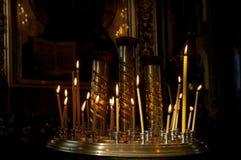 церковь правоверная kazan kazan kremlin Стоковое Изображение RF