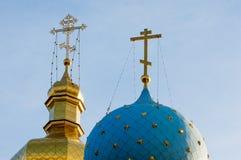 церковь правоверная kazan kazan kremlin Стоковая Фотография RF