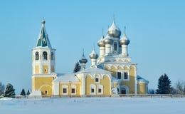 церковь правоверная Matigory Стоковая Фотография