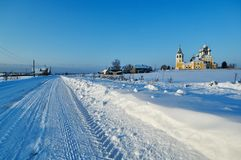 церковь правоверная Matigory Стоковые Фото
