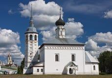 церковь правоверная Suzdal Стоковые Изображения RF