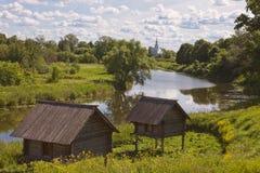 церковь правоверная Suzdal Стоковые Изображения