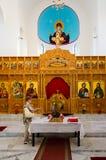 Церковь православной церков церков рождества Христоса, Shkoder, Албании Стоковые Фото
