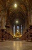 Церковь Прага St Peter и St Pauls Стоковые Фото