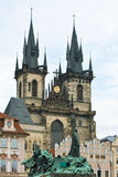 Церковь Праги Стоковые Изображения
