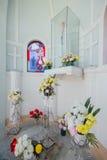Церковь предположения была основана в 1786, оно расположена в улице Farquhar, городке Джордж Стоковая Фотография