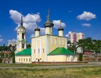 Церковь предположения на обваловке Адмиралитейства стоковое фото