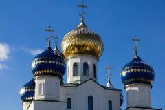 церковь придает куполообразную форму: правоверный сверкнать Стоковая Фотография RF