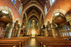 Церковь пришествия Бостона Массачусетса Стоковое фото RF
