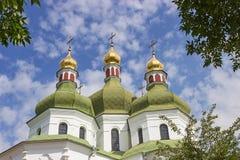 церковь придает куполообразную форму: правоверное Стоковые Изображения RF