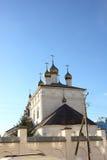 церковь придает куполообразную форму: правоверное Стоковые Фото