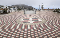 Церковь площади Valverde Стоковое фото RF