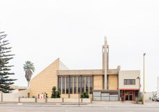 Церковь реформированная голландцем в Swakopmund Стоковые Фотографии RF