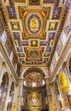 Церковь Рим Италия базилики алтара Corso al Chiesa San Marcello Стоковые Изображения RF