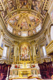 Церковь Рим Италия базилики алтара Corso al Chiesa San Marcello Стоковое фото RF