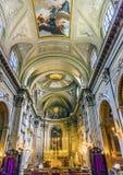 Церковь Рим Италия SS Vincenzo e Anastasio алтара Стоковые Фотографии RF
