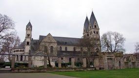 Церковь рицинуса Святого, Кобленц Стоковая Фотография RF