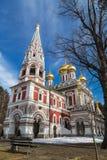 Церковь рождение Христоса, в городке Shipka, Болгария стоковая фотография rf